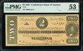 Confederate Notes:1864 Issues, T70 $2 1864 PF-8 Cr. 567A PMG About Uncirculated 53.. ...