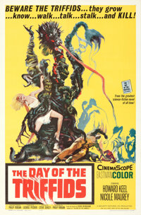 """The Day of the Triffids & Other Lot (Allied Artists, 1962). Folded, Fine+. One Sheets (2) (27"""" X 41"""") &..."""