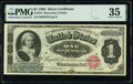 Large Size:Silver Certificates, Fr. 215 $1 1886 Silver Certificate PMG Choice Very Fine 35.. ...