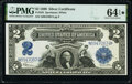 Fr. 258 $2 1899 Silver Certificate PMG Choice Uncirculated 64 EPQ*
