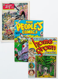 Underground Comix Group of 23 (Various Publishers, 1960s-70s) Condition: Average VG/FN.... (Total: 23 Comic Books)