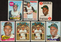 Baseball Cards:Lots, 1965 to 1972 Topps Roberto Clemente Collection (7). ...