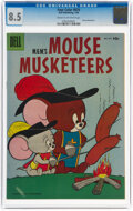 Silver Age (1956-1969):Humor, Four Color #670 M.G.M.'s Mouse Musketeers (Dell, 1956) CGC VF+ 8.5 Cream to off-white pages....