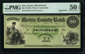 Obsoletes By State:New Jersey, Morristown, NJ- Morris County Bank $20 18__ G56a Remainder PMG About Uncirculated 50 EPQ.. ...