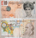 Prints & Multiples, After Banksy. Di-Faced Tenner, 10GBP Note, 2005. Offset lithograph in colors on paper. 3 x 5-5/8 inches (7.6 x 14.3 cm) ...