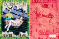 Prints & Multiples, FAILE (b. 1975). Secret Seas (Green), 2019. Double-sided acrylic and screenprint on Lenox paper. 25-1/4 x 19 inches (64....
