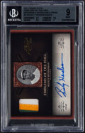 Baseball Cards:Singles (1970-Now), 2011 Panini Prime Cuts Emblems of the Hall Rickey Henderson (Jersey Auto) #5 BGS Mint 9, Auto 9 - #'d 6/10....