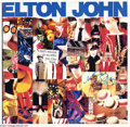 Music Memorabilia:Autographs and Signed Items, Elton John Signed Album (1988)....