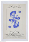 Music Memorabilia:Posters, Elton John Original Concert Poster - November 1970 - The Fillmore,San Francisco....