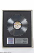 "Music Memorabilia:Awards, KISS RIAA Platinum Sales Award for ""Double Platinum"" - 1978...."