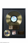 Music Memorabilia:Awards, The Mamas and The Papas: RIAA Certified Sales Award Presented to John Philips....