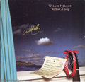 Music Memorabilia:Autographs and Signed Items, Willie Nelson Signed Album - Without A Song (1983)....