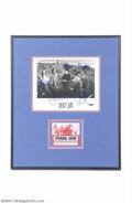 Music Memorabilia:Autographs and Signed Items, Pearl Jam Group Signed Photograph....