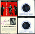 "Music Memorabilia:Autographs and Signed Items, Elvis Presley Vintage Signed ""Shake, Rattle and Roll"" 45rpm -1956...."