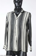 Music Memorabilia:Costumes, Elvis Presley Owned & Worn Dress Shirt....