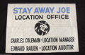 "Music Memorabilia:Autographs and Signed Items, Elvis Presley and Crew Massive Signed ""Stay Away Joe"" Banner(1968)...."