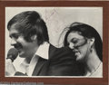 Music Memorabilia:Autographs and Signed Items, Sonny & Cher Signed 11 x 14 Photograph....