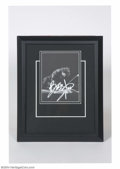 Music Memorabilia:Autographs and Signed Items, Bruce Springsteen Signed Framed Display....