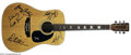 Musical Instruments:Acoustic Guitars, Bruce Springsteen & The E Street Band Signed Guitar....
