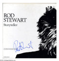 "Music Memorabilia:Autographs and Signed Items, Rod Stewart Signed ""Storyteller"" Box Set (1990)...."