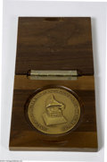 Music Memorabilia:Awards, Sarah Vaughan Grammy Presenters Medallion (1975)....