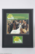 "Music Memorabilia:Autographs and Signed Items, The Beach Boys: Brian Wilson Signed ""Pet Sounds"" Album Cover...."