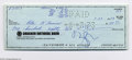 Music Memorabilia:Autographs and Signed Items, Frank Zappa Signed Check to Peter Kleinow (1973)....