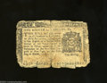 Colonial Notes:New York, New York March 5, 1776 $1/8 Very Good. This example is ...