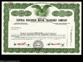 Stocks and Bonds:General Stocks & Bonds, Central Wisconsin Motor Transport Company Specimen Stock ...