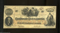 Confederate Notes:1862 Issues, T41 $100 1862. This lightly handled Scroll 2 C-note is ...