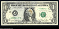Error Notes:Ink Smears, Fr. 1911-J $1 1981 Federal Reserve Note. Very Fine, ...