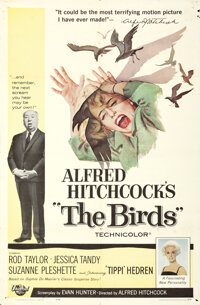 """The Birds & Other Lot (Universal, 1963). Folded, Fine. One Sheets (3) (27"""" X 41"""").... (Total: 3 Items)"""