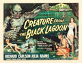 """Movie Posters:Horror, Creature from the Black Lagoon (Universal International, 1954). Rolled, Fine/Very Fine. Half Sheet (22"""" X 28"""") Style ..."""