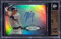 Baseball Cards:Singles (1970-Now), 2012 Bowman Sterling Mike Trout (Rookie Autographs Refractor) BGS Gem Mint 9.5, Auto 10, #'d 170/199....