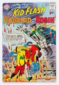 The Brave and the Bold #54 Kid Flash, Aqualad, and Robin (DC, 1964) Condition: GD+