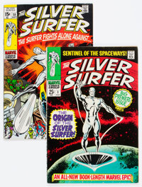 The Silver Surfer #1 and 18 Group (Marvel, 1968-70) Condition: VG/FN.... (Total: 2 )