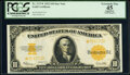 Fr. 1173* $10 1922 Gold Certificate Star PCGS Apparent Extremely Fine 45