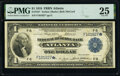 Large Size:Federal Reserve Bank Notes, Fr. 724* $1 1918 Federal Reserve Bank Star Note PMG Very Fine 25.. ...