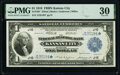 Fr. 738* $1 1918 Federal Reserve Bank Star Note PMG Very Fine 30