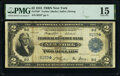 Large Size:Federal Reserve Bank Notes, Fr. 750* $2 1918 Federal Reserve Bank Star Note PMG Choice Fine 15.. ...
