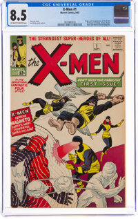 X-Men #1 (Marvel, 1963) CGC VF+ 8.5 Off-white to white pages