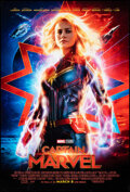 """Movie Posters:Action, Captain Marvel (Walt Disney Studios, 2019). Rolled, Very Fine+. One Sheet (27"""" X 40"""") DS Advance. Action.. ..."""