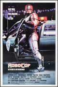 """Movie Posters:Action, RoboCop (Orion, 1987). Rolled, Fine/Very Fine. One Sheet (27.25"""" X 41"""") SS, Mike Bryan Artwork. Action.. ..."""