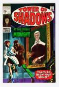 Silver Age (1956-1969):Horror, Tower of Shadows #1 (Marvel, 1969) Condition: NM-....