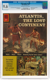 Four Color #1188 Atlantis, The Lost Continent (Dell, 1961) CGC NM+ 9.6 Off-white to white pages