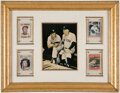 Autographs:Sports Cards, Mickey Mantle Signed 1959 Topps Display. ...