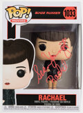 """Autographs:Others, Sean Young Signed Rachael """"Blade Runner"""" Funko POP. ..."""