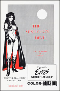 """The Sexorcist's Devil & Other Lot (Eros Films, 1974). Flat Folded, Very Fine+. One Sheets (2) (27"""" X 41"""")..."""