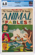 Golden Age (1938-1955):Funny Animal, Animal Fables #1 (EC, 1946) CGC FN 6.0 Off-white to white pages....
