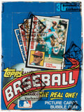 Baseball Cards:Singles (1970-Now), 1984 Topps Baseball Wax Box With 36 Unopened Packs. ...